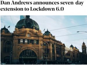Melbourne Lockdown 6.0 Extended