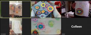 Art for All Abilities commences Term 4 via Zoom
